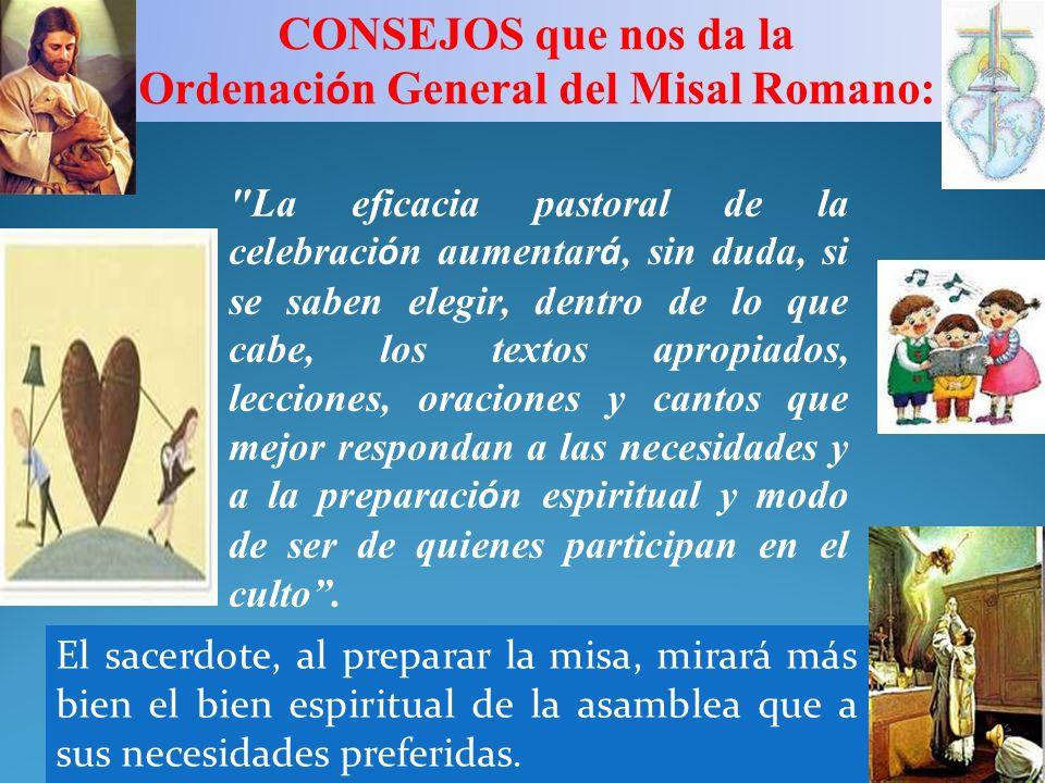 Ordenación General del Misal Romano: