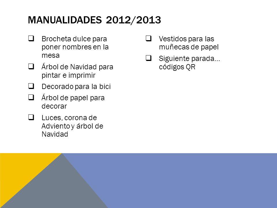 Manualidades 2012/2013 Brocheta dulce para poner nombres en la mesa