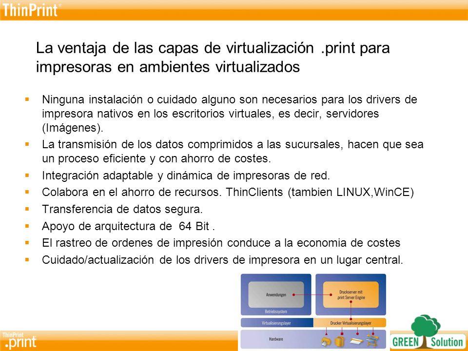 La ventaja de las capas de virtualización