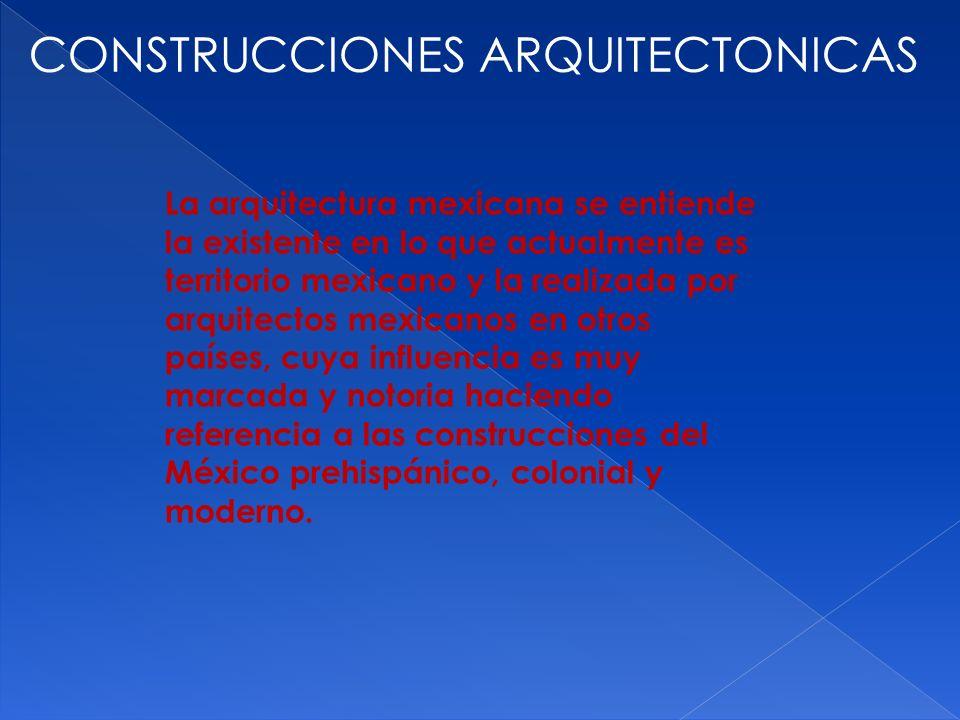 CONSTRUCCIONES ARQUITECTONICAS