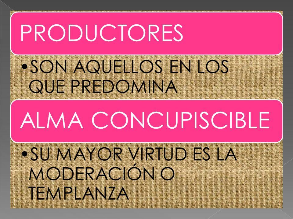 PRODUCTORES ALMA CONCUPISCIBLE PRODUCTORES