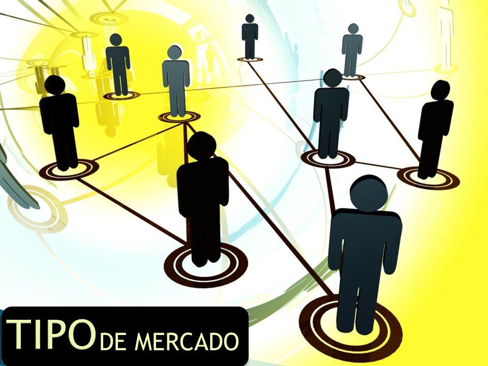 TIPO DE MERCADO