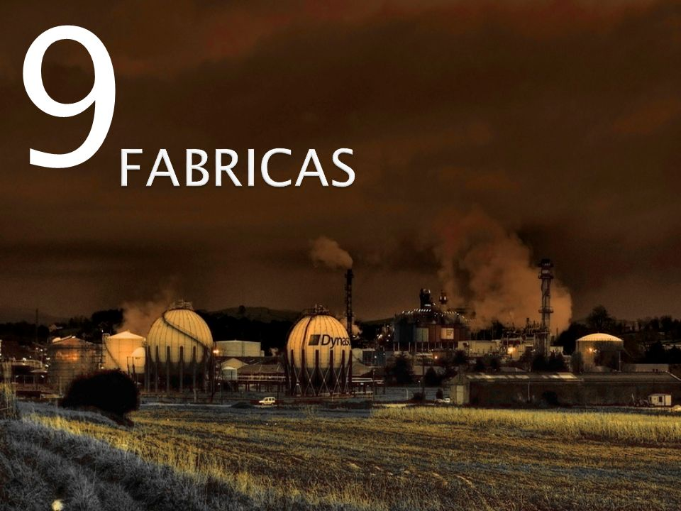 9 FABRICAS