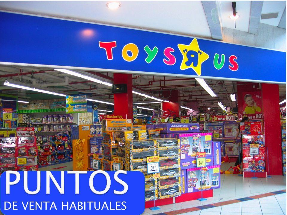 PUNTOS DE VENTA HABITUALES