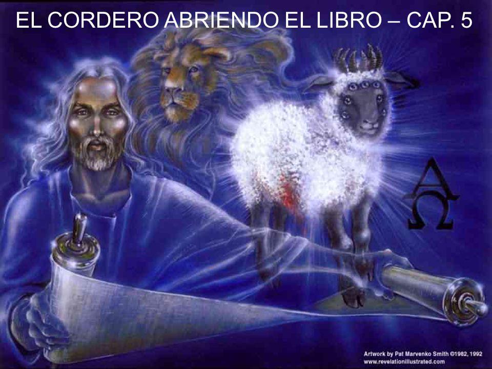 EL CORDERO ABRIENDO EL LIBRO – CAP. 5