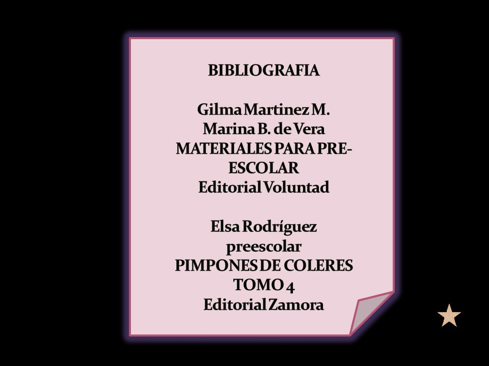 BIBLIOGRAFIA Gilma Martinez M. Marina B