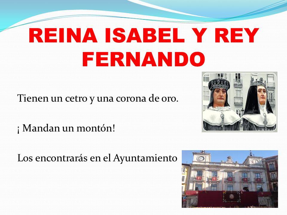 REINA ISABEL Y REY FERNANDO
