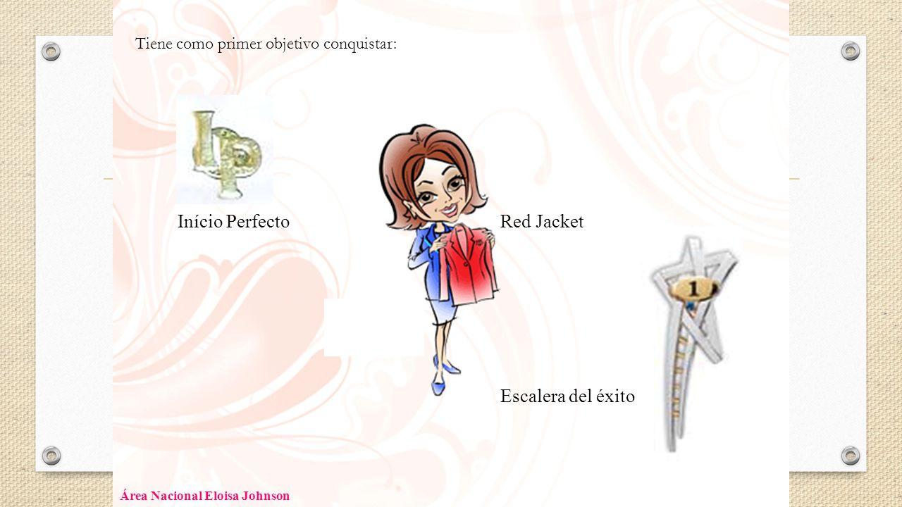 Início Perfecto Red Jacket Escalera del éxito