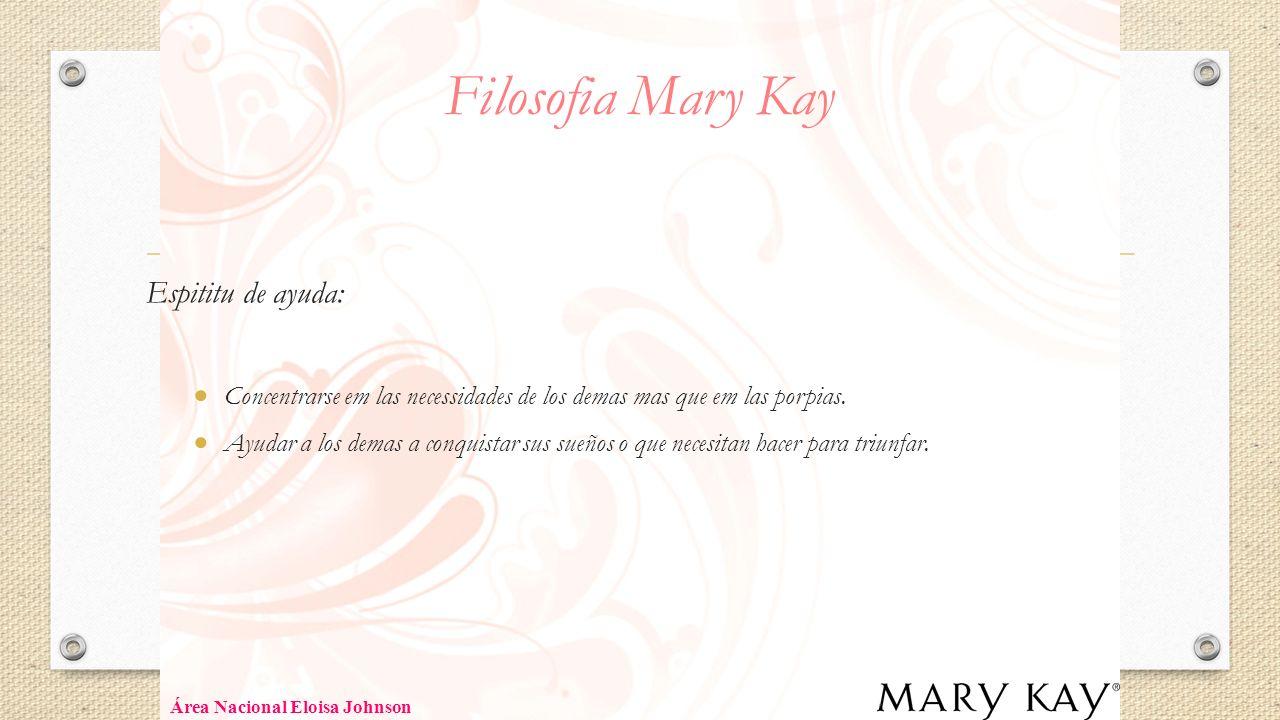 Filosofia Mary Kay Espititu de ayuda: