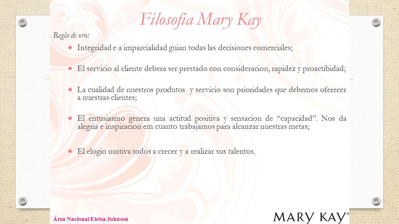 Filosofia Mary Kay Regla de oro:
