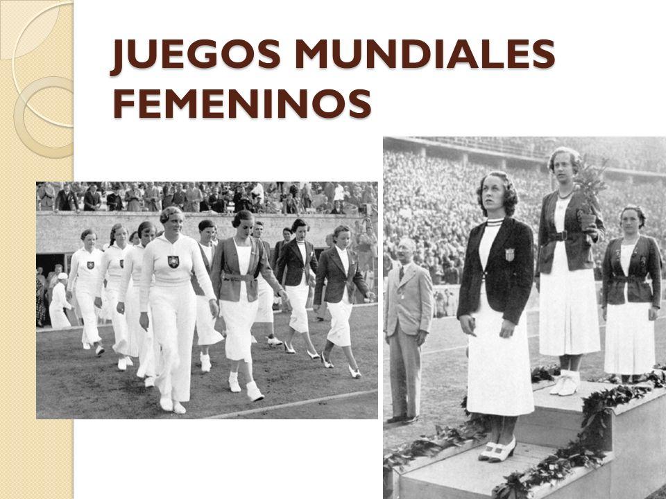 JUEGOS MUNDIALES FEMENINOS