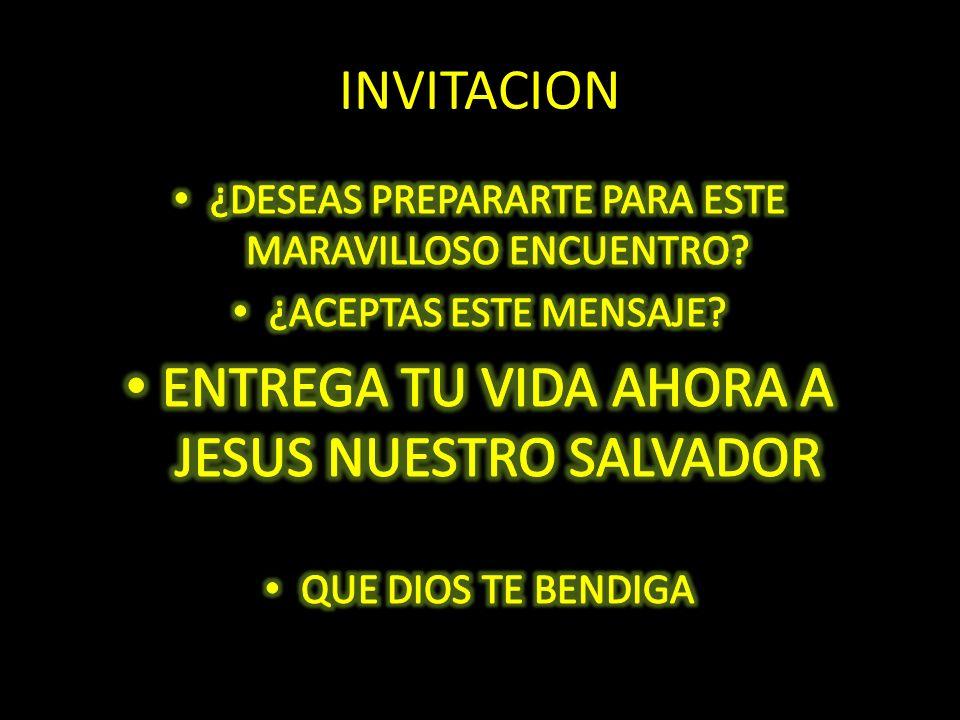ENTREGA TU VIDA AHORA A JESUS NUESTRO SALVADOR