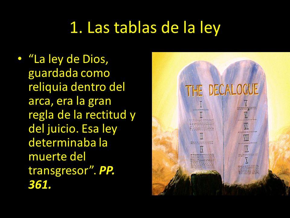 1. Las tablas de la ley