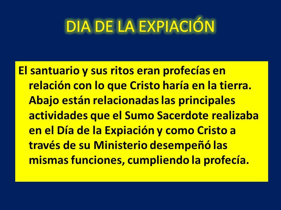 DIA DE LA EXPIACIÓN