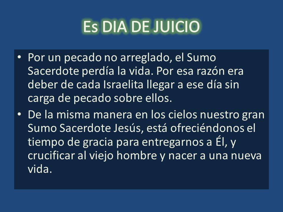 Es DIA DE JUICIO