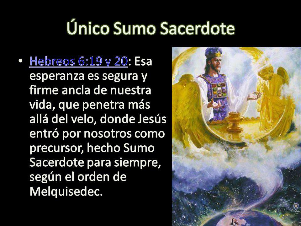 Único Sumo Sacerdote
