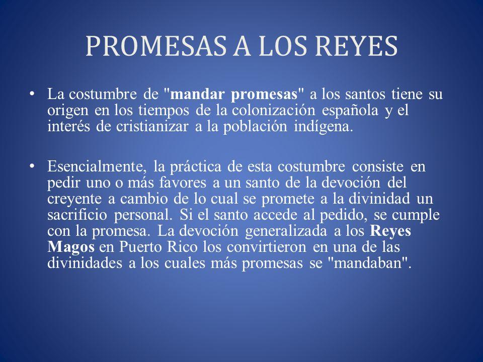 PROMESAS A LOS REYES