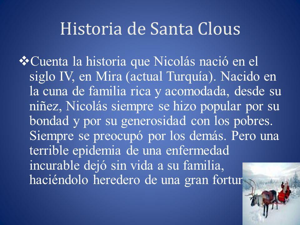 Historia de Santa Clous