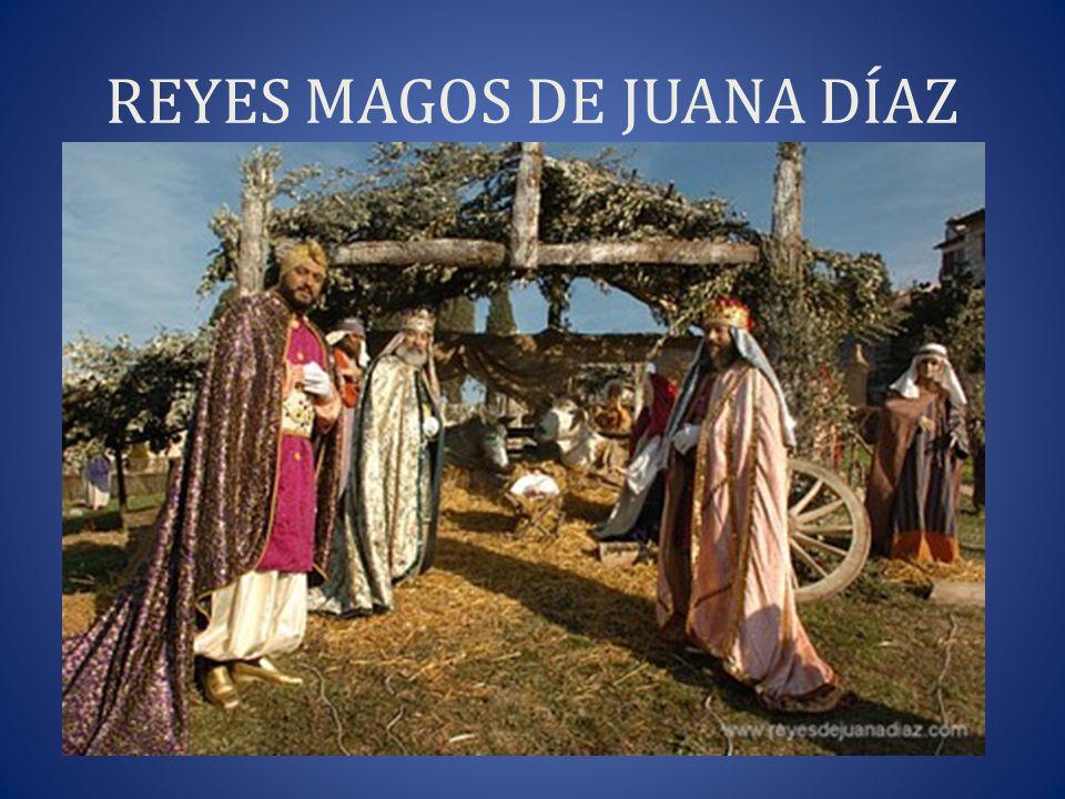 REYES MAGOS DE JUANA DÍAZ