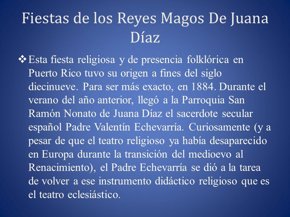 Fiestas de los Reyes Magos De Juana Díaz