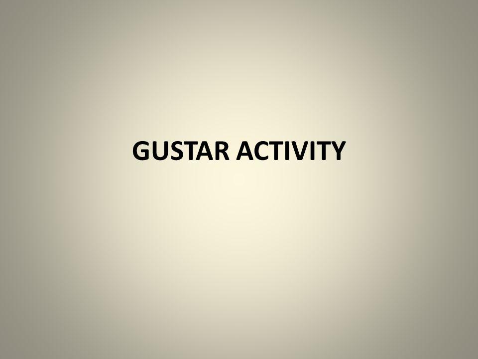 GUSTAR ACTIVITY