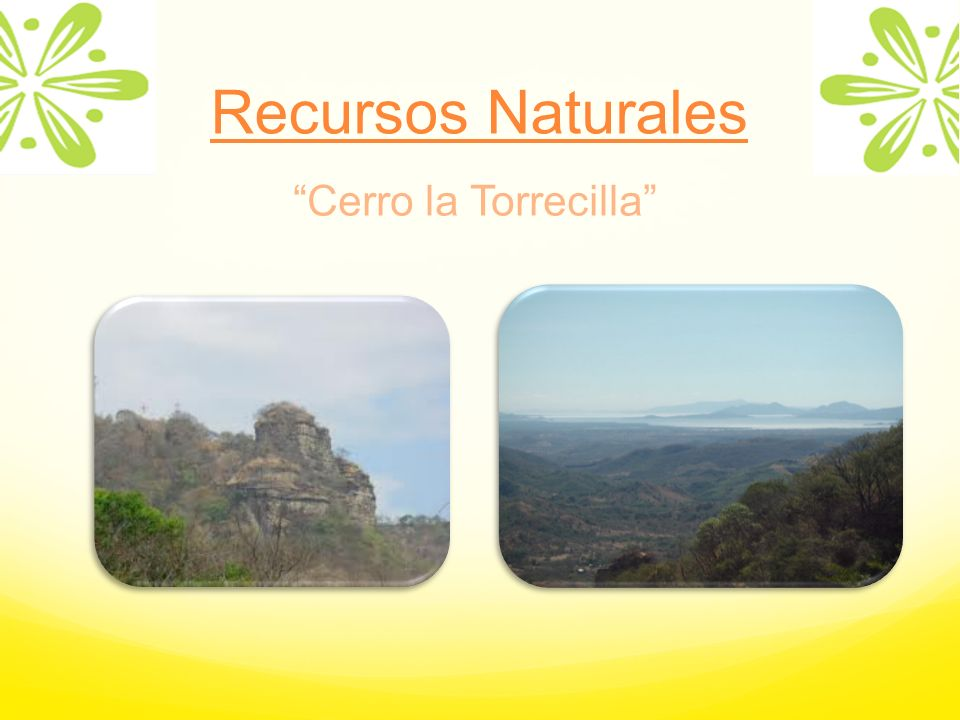 Recursos Naturales Cerro la Torrecilla