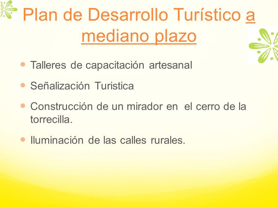 Plan de Desarrollo Turístico a mediano plazo