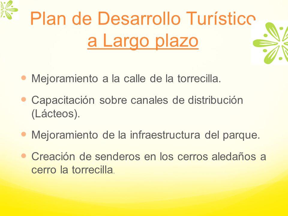 Plan de Desarrollo Turístico a Largo plazo