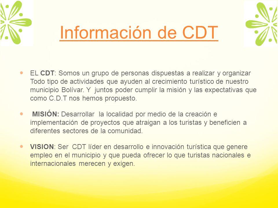 Información de CDT