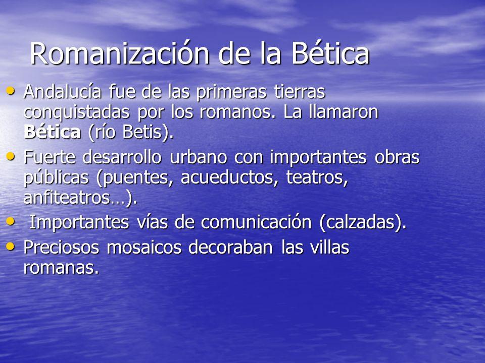 Romanización de la Bética
