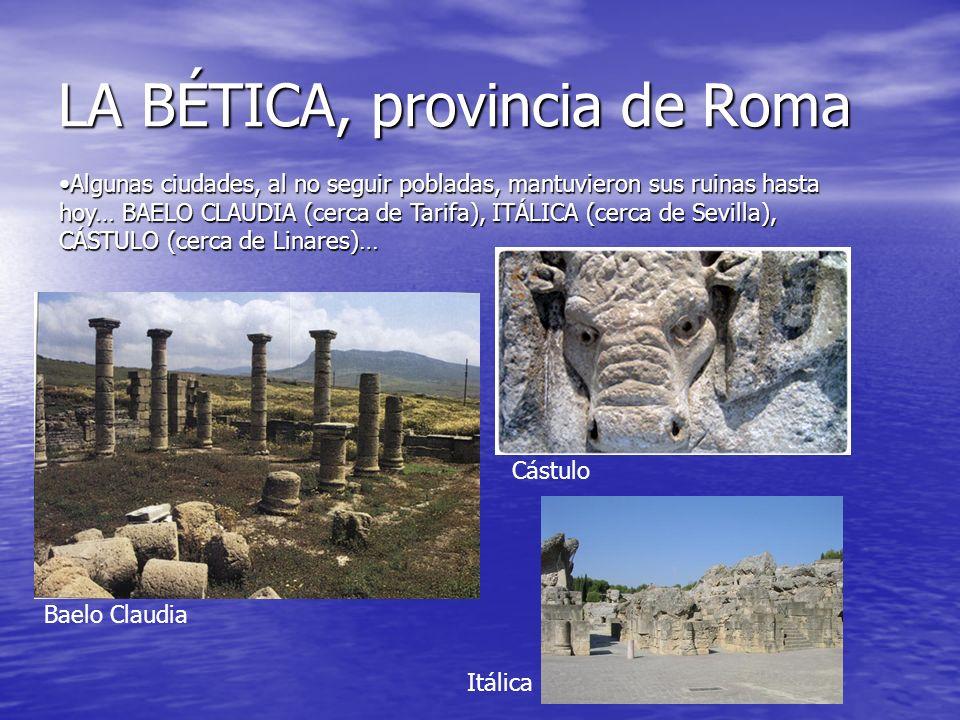 LA BÉTICA, provincia de Roma