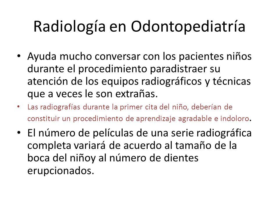 Radiología en Odontopediatría