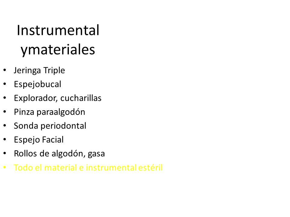 Instrumental ymateriales