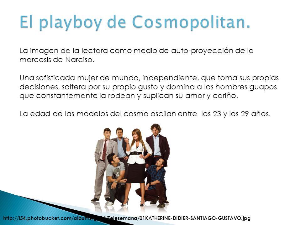 El playboy de Cosmopolitan.