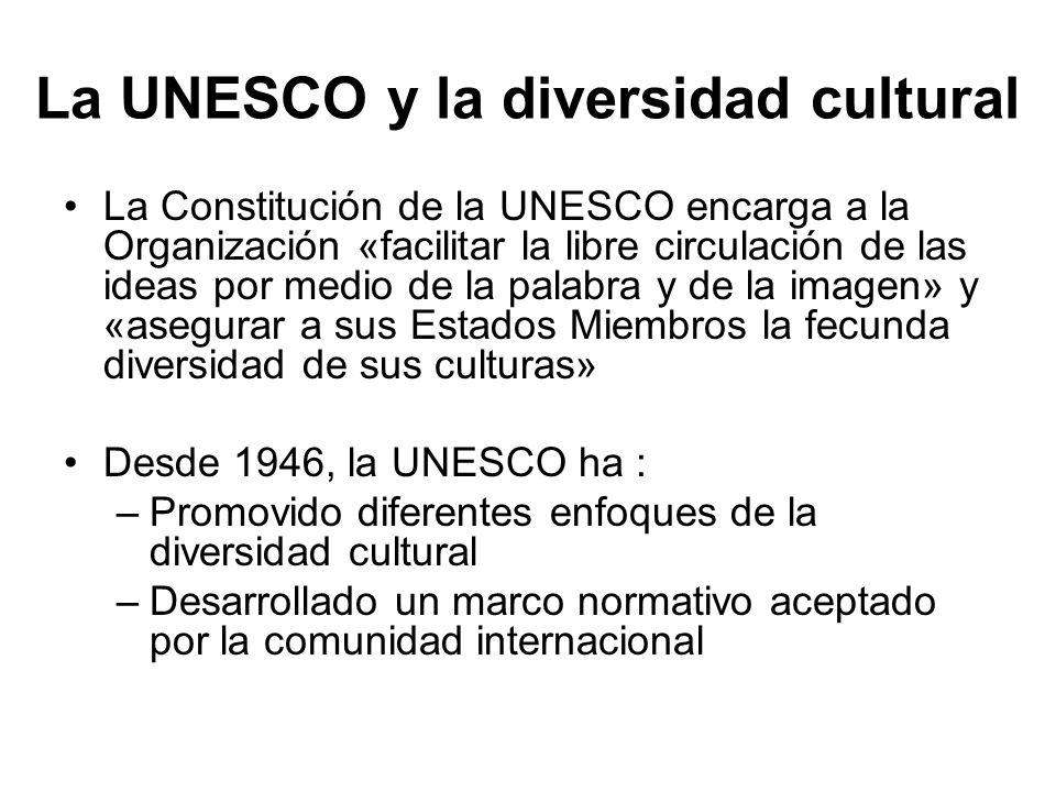 La UNESCO y la diversidad cultural
