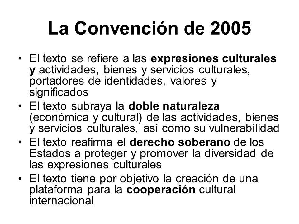 La Convención de 2005