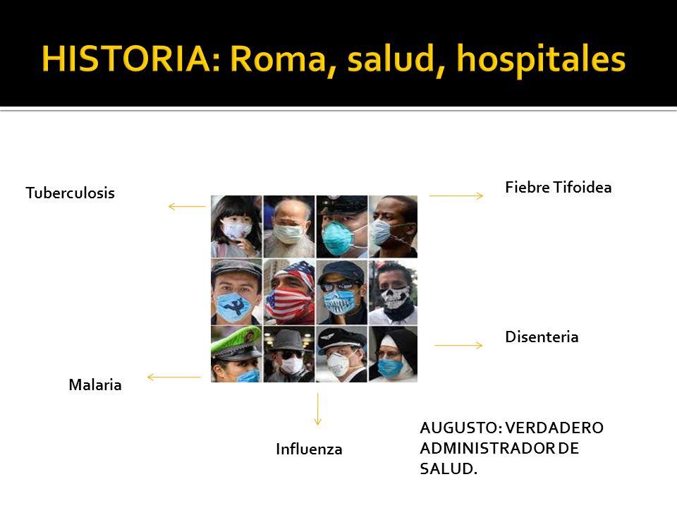 HISTORIA: Roma, salud, hospitales