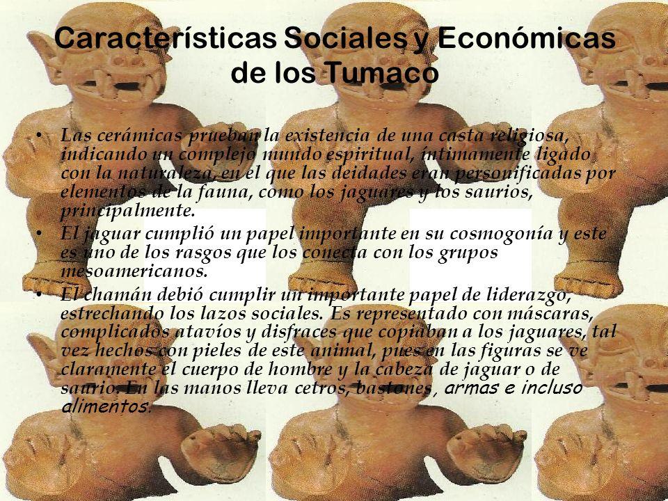 Características Sociales y Económicas de los Tumaco