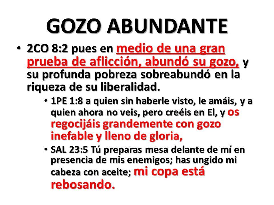 GOZO ABUNDANTE