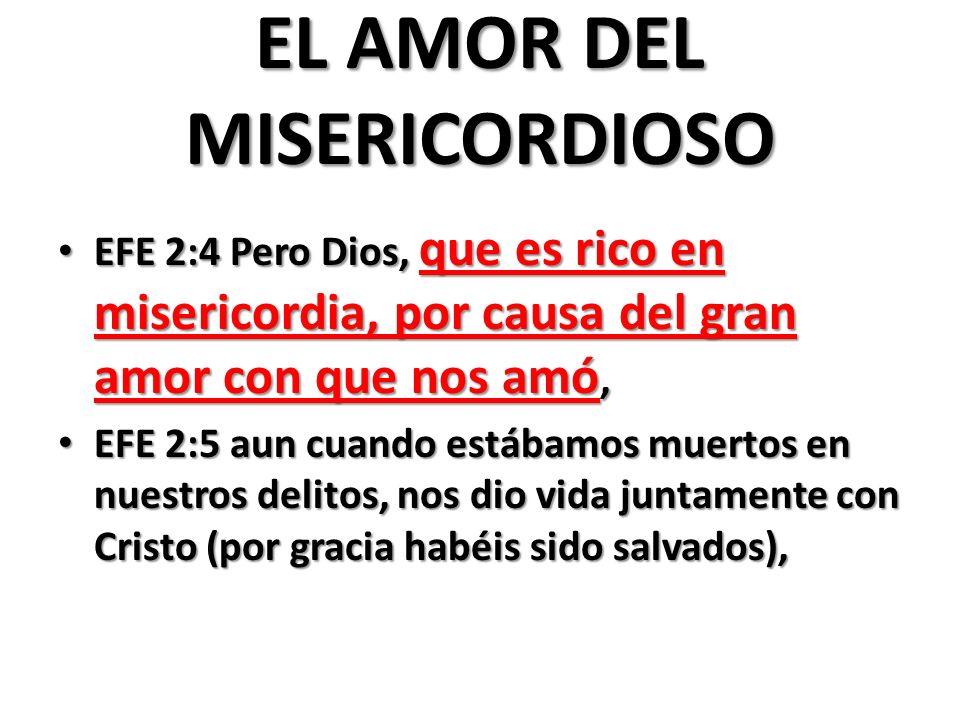 EL AMOR DEL MISERICORDIOSO