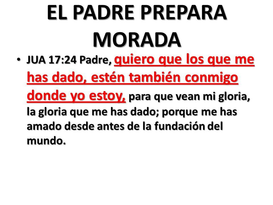 EL PADRE PREPARA MORADA