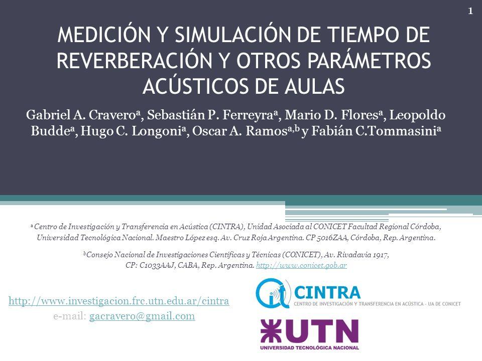 CP: C1033AAJ, CABA, Rep. Argentina. http://www.conicet.gob.ar