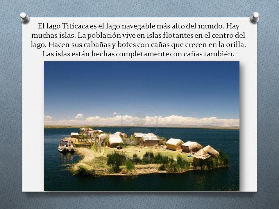 El lago Titicaca es el lago navegable más alto del mundo