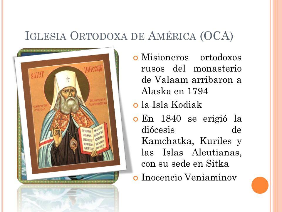 Iglesia Ortodoxa de América (OCA)