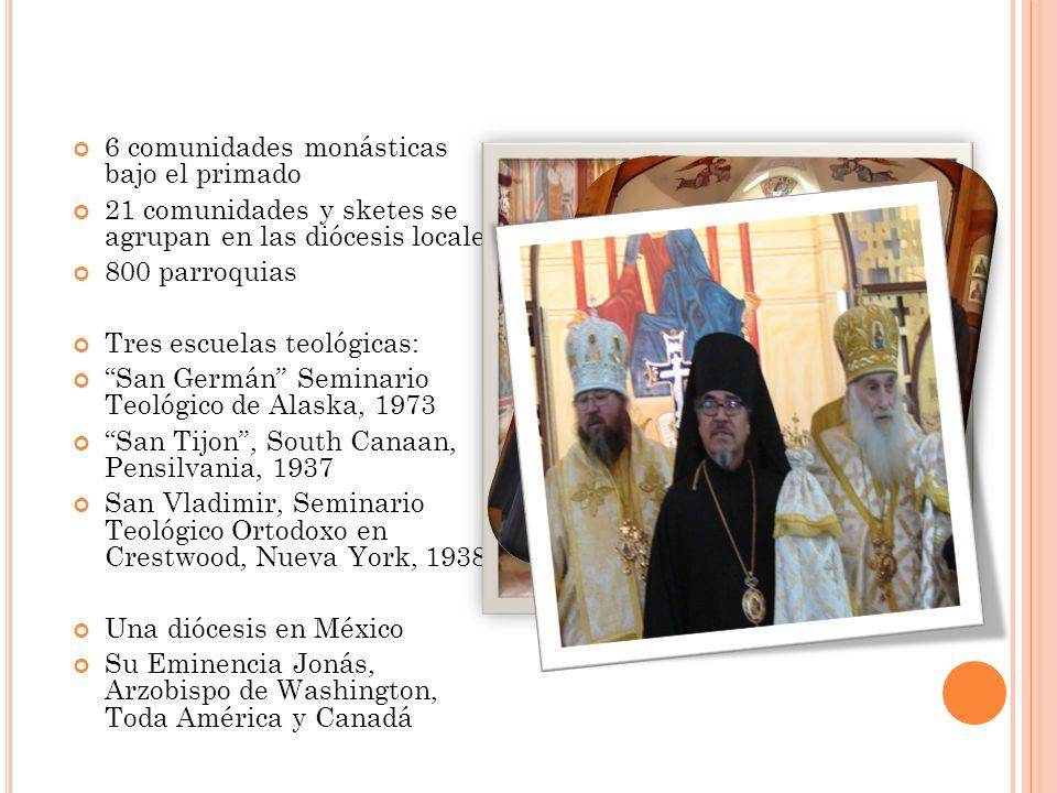 6 comunidades monásticas bajo el primado