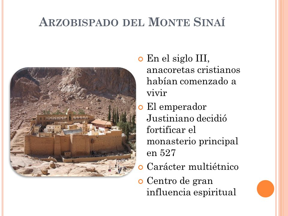Arzobispado del Monte Sinaí