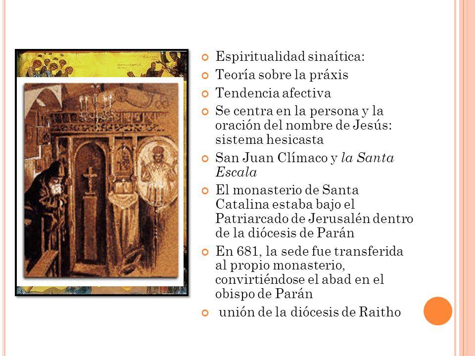 Espiritualidad sinaítica: