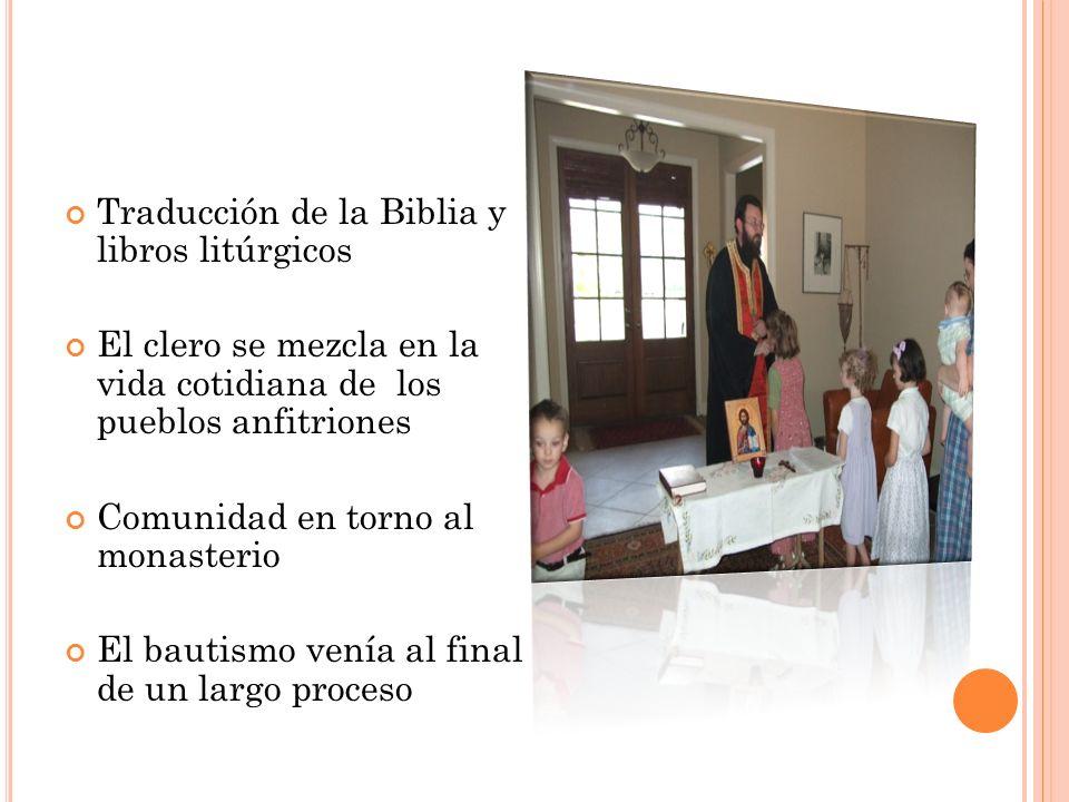 Traducción de la Biblia y libros litúrgicos