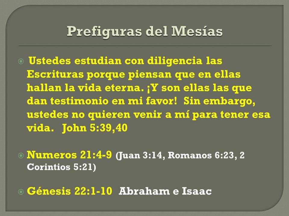 Prefiguras del Mesías