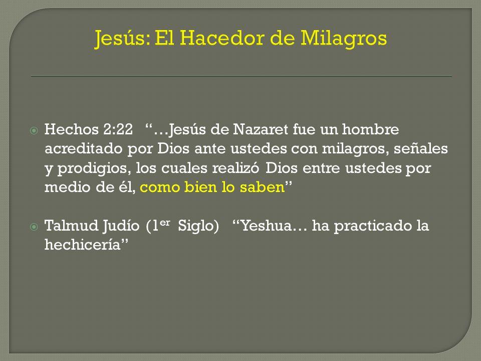 Jesús: El Hacedor de Milagros